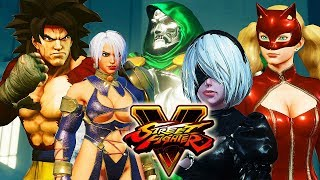 street fighter 5 story mode with mods part 1 - TH-Clip