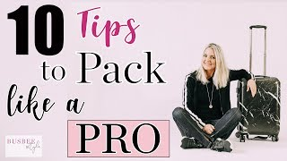 10 Tips to Help you Pack Like a Pro with ONLY a Carry On!!