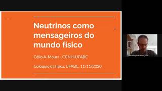 "<span class=""fs-sm"">Colóquio de Física UFABC - 11/11/2020 - Célio Moura (UFABC) </span>"