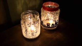 DIY Christmas Candle Jars  | MiA 💮