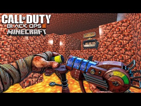 MINECRAFT NETHER ZOMBIES (Challenge Mode) - BLACK OPS 3