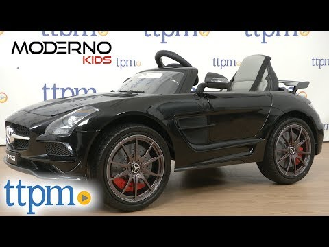 Mercedes SLS AMG Final Edition 12V Kids Ride-On Car from Moderno Kids