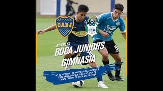 Juveniles: Boca Vs. Gimnasia, Por Streaming