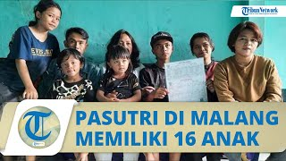 Viral Kisah Pasutri di Kota Malang Punya 16 Anak, Berawal Ingin Anak Laki-laki hingga Keterusan