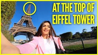EIFFEL TOWER TOUR    Paris Vlog - Part 2    Nagma Mirajkar