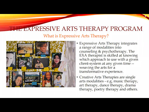 Expressive Arts Therapy Info Session - YouTube