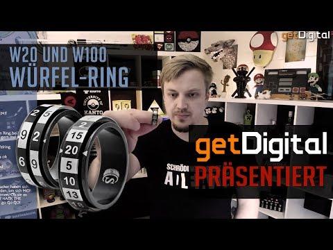 Würfel Ringe für RPG & Tabletop - W20 und W100 - getDigital präsentiert