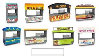 Delfield Mobile Carts & Kiosks