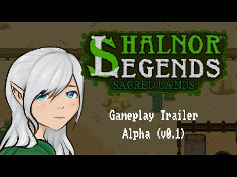 Shalnor Legends: Sacred Lands - ALPHA Gameplay Trailer thumbnail