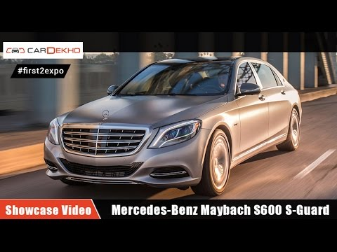#first2expo : Mercedes-Benz Maybach S600 S-Guard | Showcase Video | CarDekho@AutoExpo2016