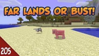 Minecraft Far Lands or Bust - #205 - Desert Pig Song