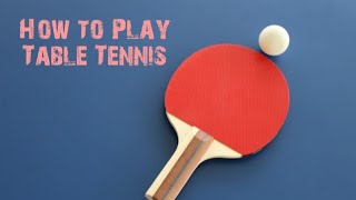 The most important table tennis skills in hindi   By  sports dream classes 