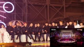 161119 EXO Reaction To TWICE Cheer Up/TT @ MMA 2016
