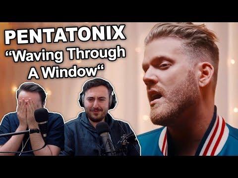 """Pentatonix - Waving Through A Window"" Singers REACTION"
