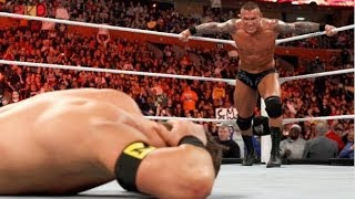 Raw 31/1/11 Randy Orton Punts Husky Harris [Nexus] HD