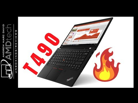 External Review Video Ep-NmaZsFoE for Lenovo ThinkPad T490 Laptop