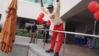 CHAMP @ L.A. Job Corps w. Rayan, Santo August, and Jevon Doe Performing 2017 | Tyler K. Moore