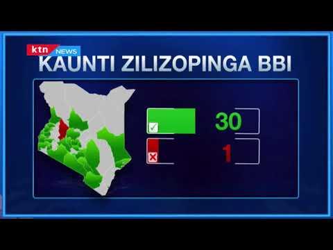 Mswada wa BBI kuelekea bungeni baada ya kaunti 30 kuidhinisha ripoti hiyo | MBIU YA KTN