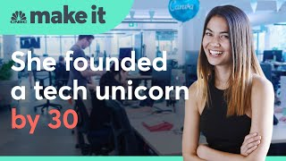 She founded a unicorn by 30. Now she's taking on the tech giants | Make It International