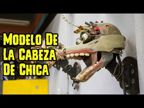 ¿Modelo De La Cabeza De Chica Para Five Nights At Freddy's La Pelicula?