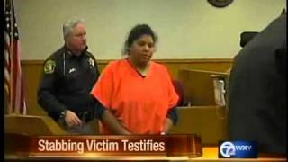 Stabbing Victim Testifies