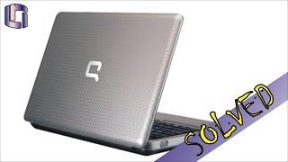 Compaq Presario CQ62 - How To Fix Black Screen Problem