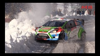 WRC Rallye Monte Carlo 2018 | Crash and Show | Max Attack | Mistakes [HD]