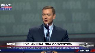 PRESIDENTIAL WELCOME: NRA Chris Cox Welcomes Donald Trump And Bashes Media And Clinton (FNN)