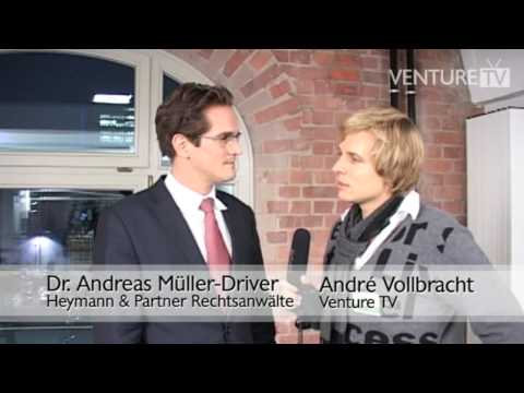 Sehenswert: Andreas Müller-Driver von Heymann & Partner über die richtige Gesellschaftsform