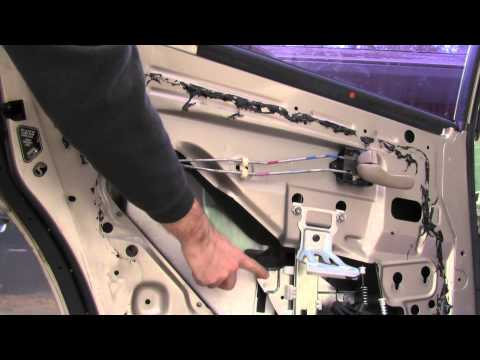Download Link Youtube How To Push Up A Stuck Automatic Window That Only Goes Down Replace Motor