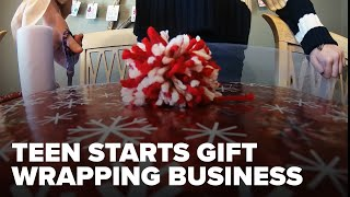 Arkansas 13-year-old entrepreneur starts gift wrapping business