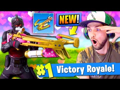 *NEW* CROSSBOW GAMEPLAY in Fortnite: Battle Royale! (EPIC)