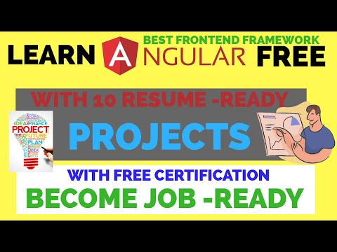 Learn Angular Free With Resume Ready 10 Projects ... - YouTube