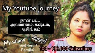 #வாங்கபேசலாம் 1 Lakh subscribers youtuber Journey- How i became strong and my life update??