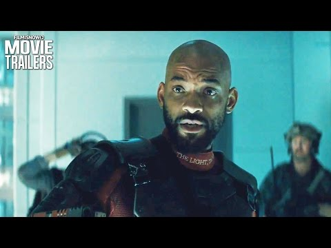 SUICIDE SQUAD | Will Smith's DEADSHOT is a hitman man, he doesn't save people!