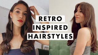 How To: Easy Retro Hairstyles | Luxy Hair