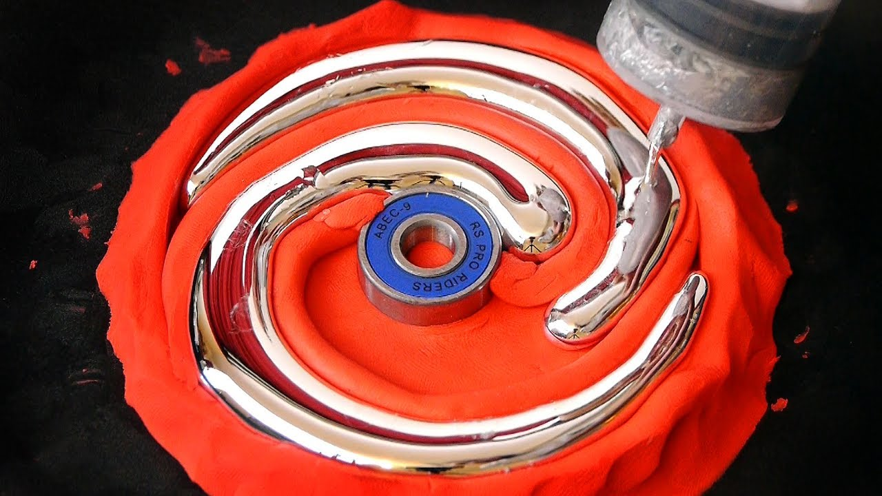 DIY Spiral Gallium Fidget Spinner thumbnail