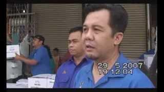 preview picture of video 'Banjir di Tenom rakaman video 15 Febuari 2014'