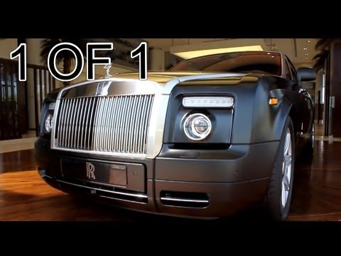 Rolls Royce Phantom Coupe Mirage 1 OUT OF 1 World Wide