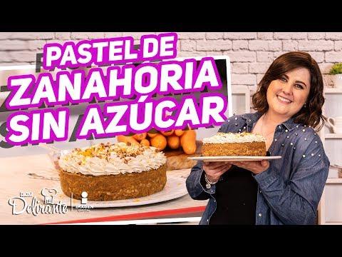 Delicioso Pastel De Zanahoria Sin Azúcar y Muy Nutritivo