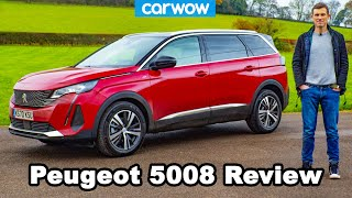 [carwow] Peugeot 5008 2021 review - PARENTAL ADVISORY!
