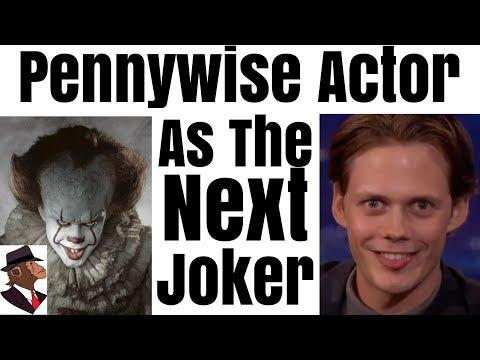 Bill Skarsgård Aka Pennywise As The Joker | MTW