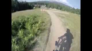 Riding the Gnar-Gnar Trail at Skibowl