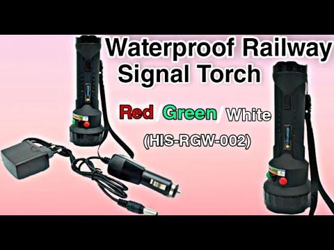 LED Railways Tri Color Signal Torch