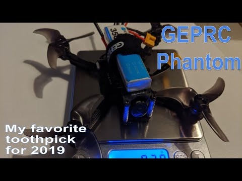 GEPRC Phantom toothpick - review, complete setup, flight tests