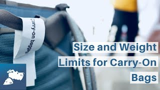 Size and Weight Limits for Carry-On Bags | Airfarewatchdog