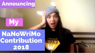 preview picture of video 'Announcing NaNoWriMo 2018 Participation | Amazing Writing Journey'