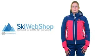 Kilpi, Sawa stretch ski jacket, women, grey