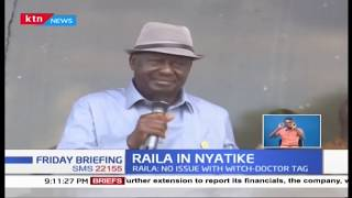 You can call me 'witchdoctor' for all I care, Raila insists on fight against graft