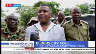 Samburu elders unhappy after police disrupted their meeting